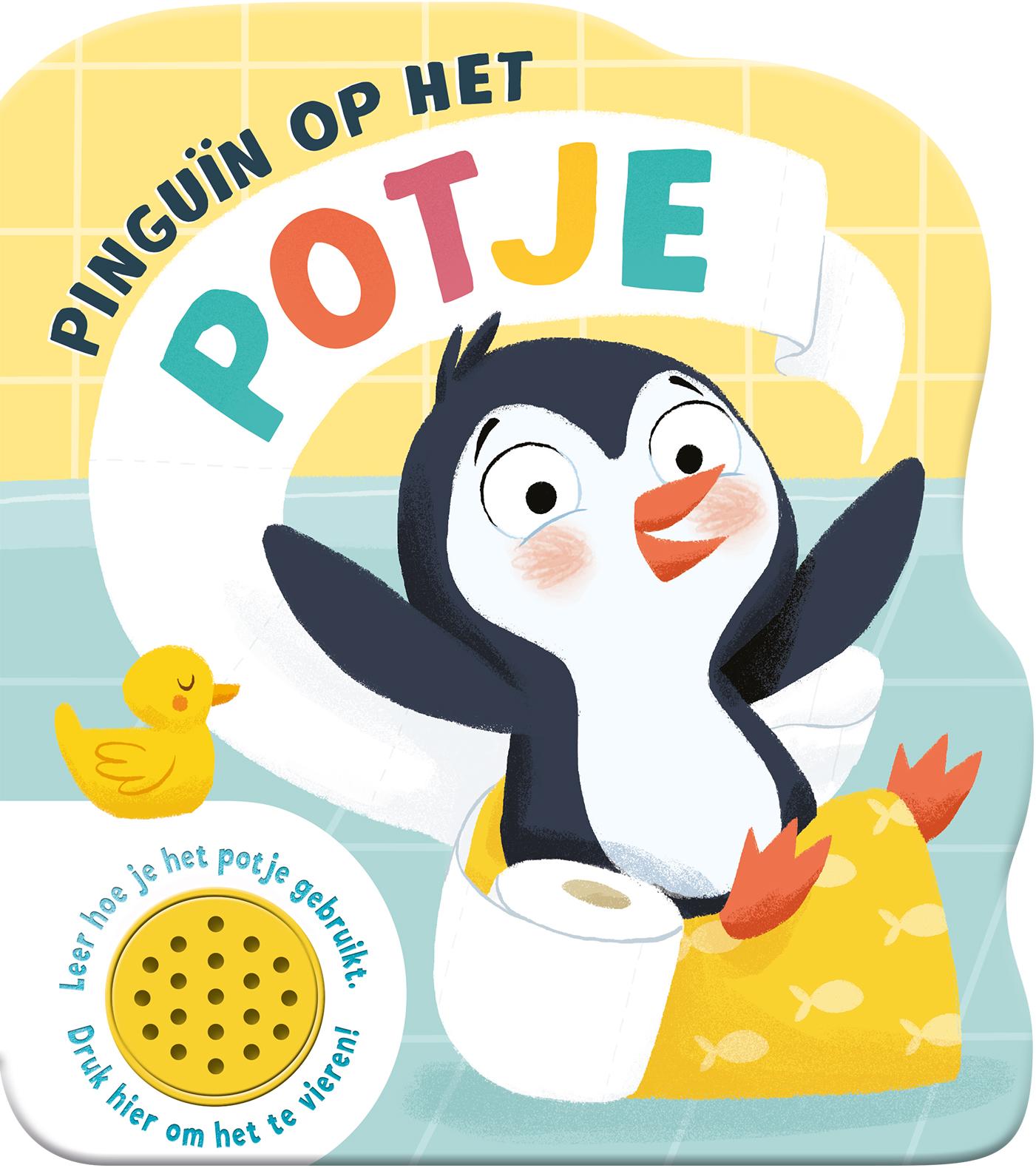 Geluidboek Pinguïn op het potje