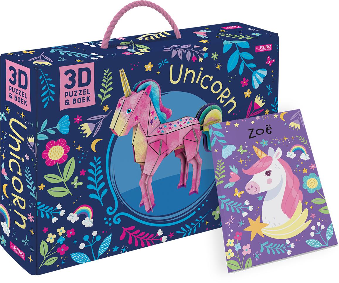 Unicorn - Boek + 3D-model