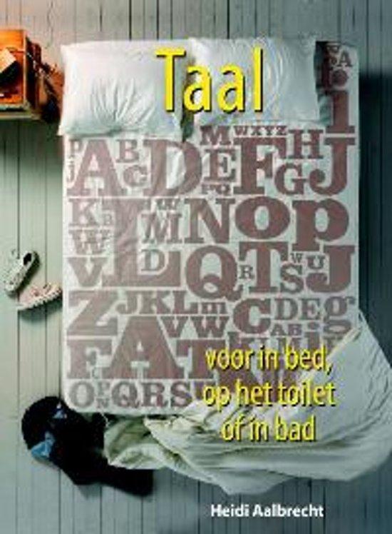 Voor in bed,toilet,bad Taal