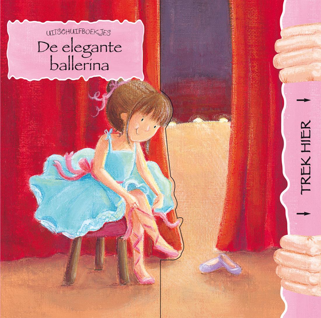 Uitschuifboekje Elegante ballerina