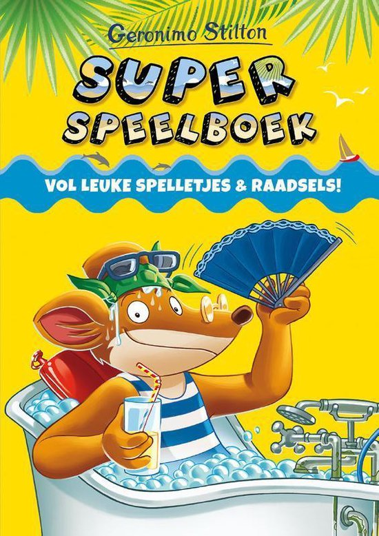 Superspeelboek Geronimo Stilton