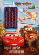 Disney Cars Supersnel act.+krijtjes