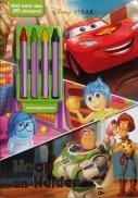 Disney Pixar Hoop act.+krijtjes