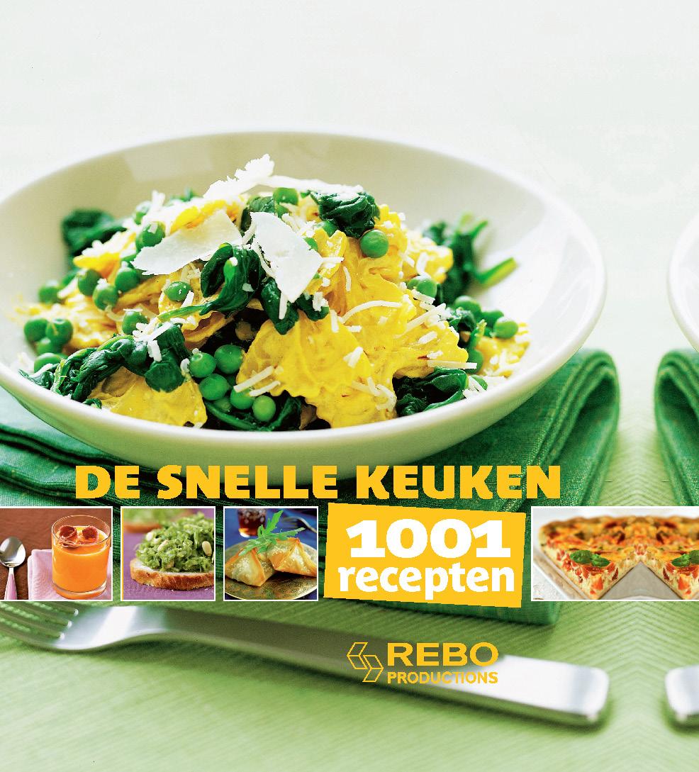 1001 recepten snelle keuken